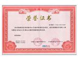 东方旭荣誉证书