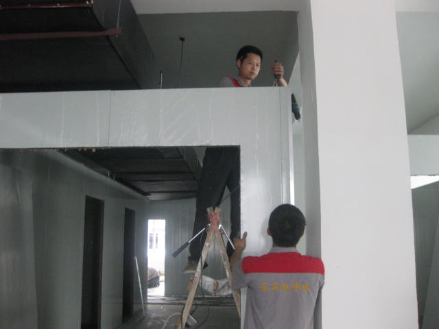 东方旭施工